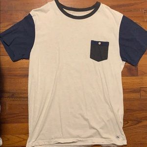 Quiksilver pocket t shirt